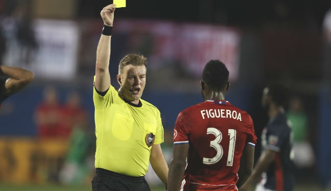 Alan Kelly will referee Chicago Fire v Columbus Crew in MLS Week 6
