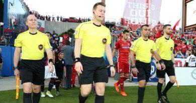 Alan Kelly will referee Minnesota United v Sporting Kansas City in Week 10