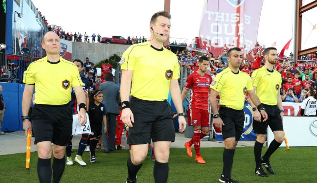 Alan Kelly will referee Minnesota United v Sporting Kansas City in Week 10