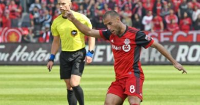 Referee Allen Chapman pictured during Toronto FC vs Minnesota United