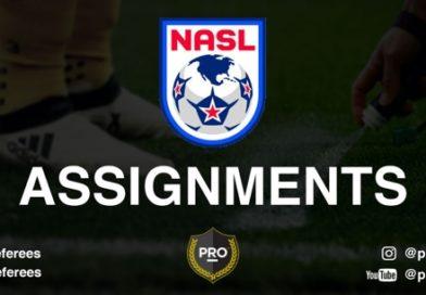 NASL assignments: Week 17