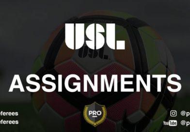 USL assignments: Week 18