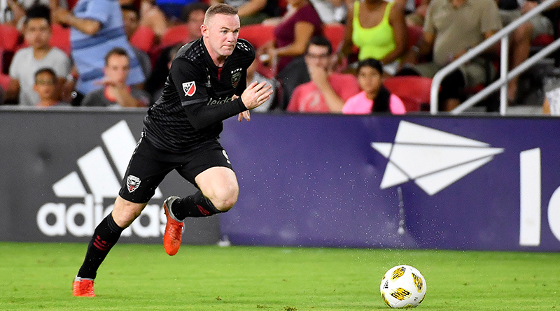 Wayne Rooney leads an attack for DC United.