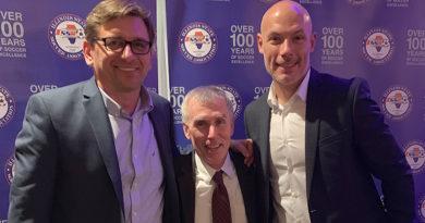 Alex Prus, Michael Kennedy and Howard Webb.