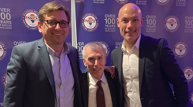 Alex Prus, Michael Kennedy and Howard Webb.