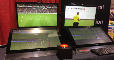 Video Review at the United Soccer Coaches Convention.