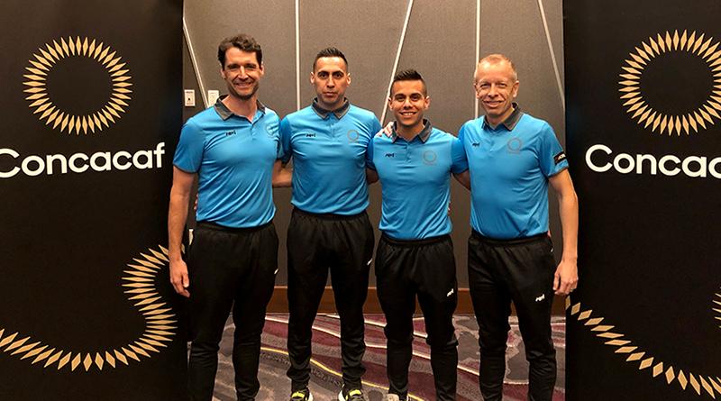 Frank Anderson, Jair Marrufo, Armando Villarreal and Corey Rockwell.