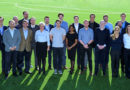 FIFA's Working Group for Innovation Excellence photographed at the Home of FIFA in Zurich in February 2020.