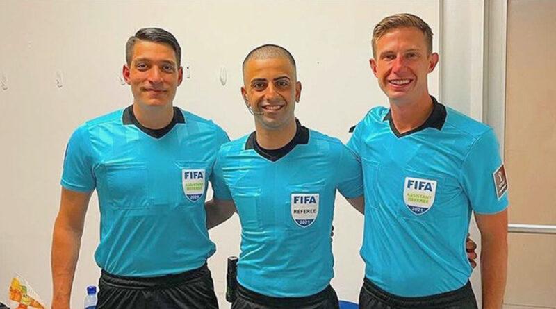 Nick Uranga, Nima Saghafi and Logan Brown.
