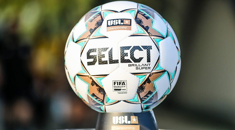 The 2021 USL Championship matchball