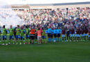 Members of the Colorado Rapids and Seattle Sounders prior to the game at Dick's Sporting Goods Park.